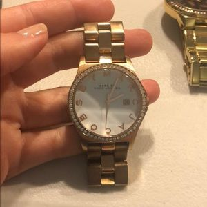 Marc Jacobs Stainless Steel Rose Gold Watch